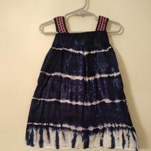 Aphorism tie-dye jumper dress size 2T